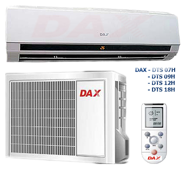 DAX,  —  кондиционер года DАX DTS 7/9/12/18/24 H.