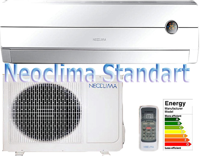 Сбережём озон с кондиционерами Неоклима на 410 фреоне.