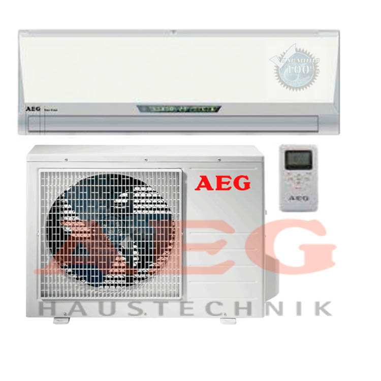 AEG воплощены все комплексные достижения компании... Рисунок: Сплит-система AEG