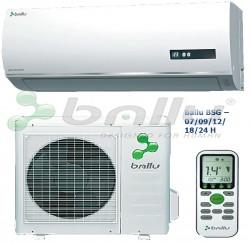 Ballu bsg 09−12−18−24 h, — модели конденсаторного пуска. Ротационный японский компрессор.