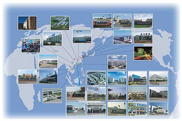 Заводы Midea(Мидея) Holding Co., Ltd разбросаны по всему китайскоме побережью.