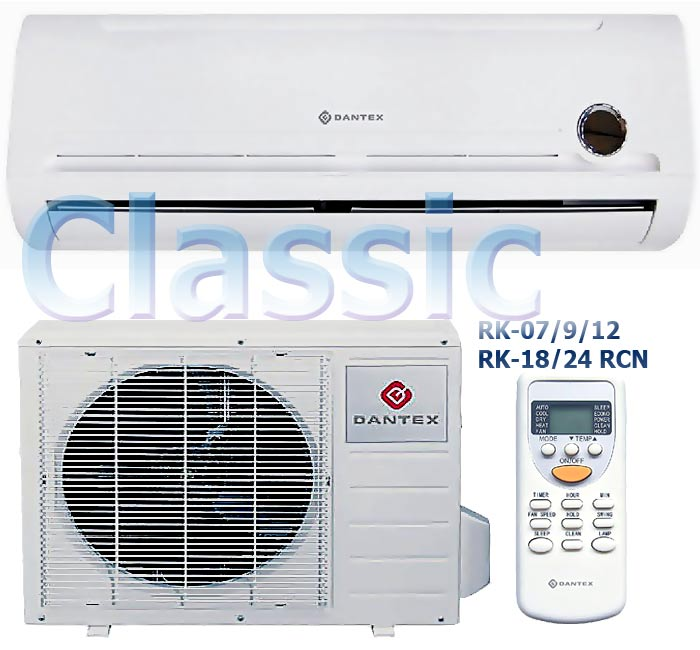 Dantex-classic: the popular air conditioner of 2012, standards of the English quality