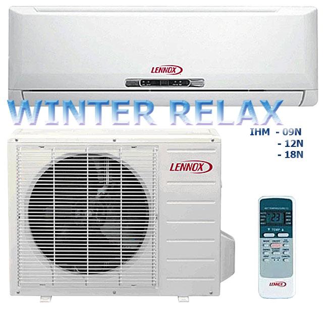 Сплит-система Lennox GHM09/12NI + Winter = Lennox GHM09/12/18/24 NL AI/AO