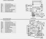 Схема принципиальная, подключение кондиционера lessar