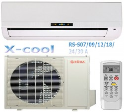 Appearance of conditioner Roda of series X-cool