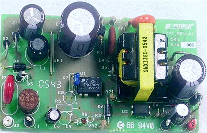 The standard power supply, element base.