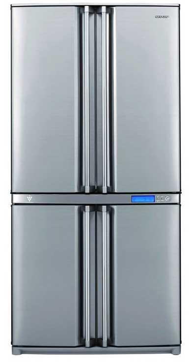 очень Вместительный холодильник: Sharp-SJ-F96SPSL, Мой отзыв о покупке