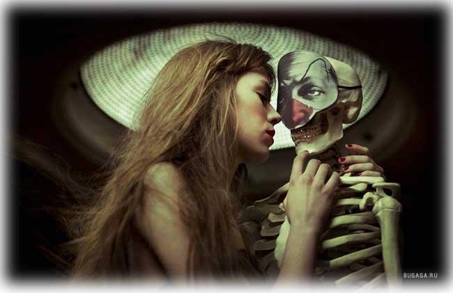Смелый поцелуй... зацелует такая насмерть