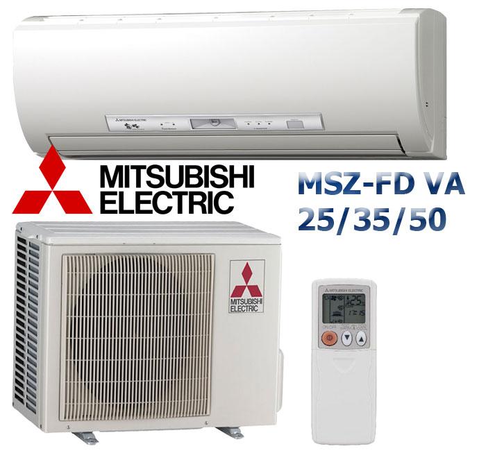 MSZ-FD инвертор - Deluxe 25/35/50 VA DC