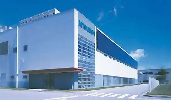 Nakatsugawa Works завод компании Мицубиси Элкектрик в Накатсугаве.