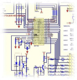 Basic circuit diagrammes of management of split-systems and... Heating coppers
