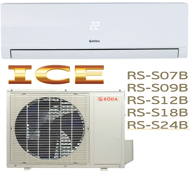 Split-system Roda ICE RS, RU — S... B. Roda series ACE: split-systems of the raised comfort and reliability